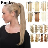 Long Straight Ponytail Wrap Around Ponytail Clip in Hair Extensions Natural Hairpiece Headwear Synthetic Hair Brown Gray 613 2