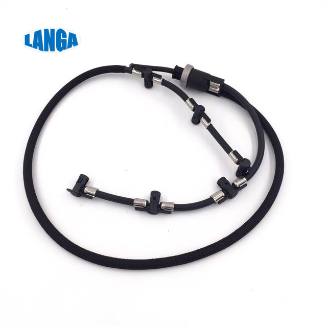 Fuel return Line Hose Pipe Diesel Injector Hose Leak line OE: 059130218H for A4 A6 C7