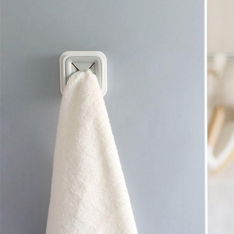 Towel Clip Towel Rack Free Punch Towel Rack Kitchen Supplies Rag Plug Plastic Home Special Towel Rack