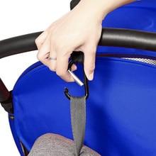 4Pcs Clip Stroller Hook Baby Carabiner Pram Carriage Hanger