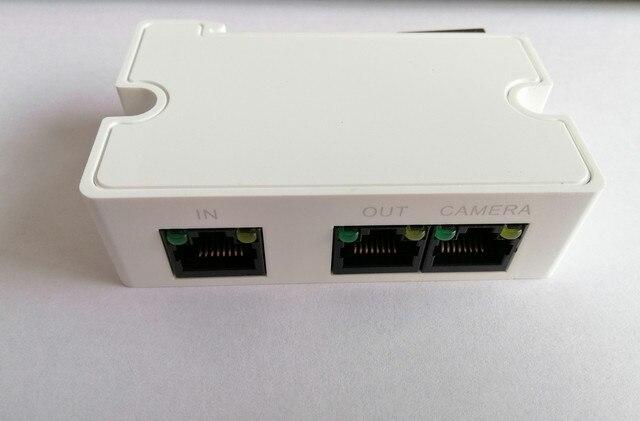 Dahua PoE Extender PFT1300 prend en charge 1 RJ45 10/100M PoE entrée dalimentation Ip caméra accessoire pour les systèmes ip