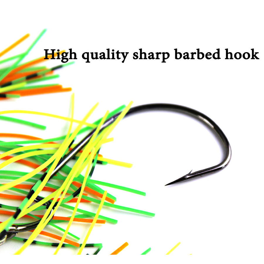 1pc Wobbler For Fish Bass Pike Walleye Tackle Fishing Lure Winter Artificial Bait Hard Buzz Spinnerbait Swimbait Chatterbait Sea-3