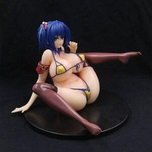 Image 5 - Q six Comic Hot Milk Cover Girl Nozomi Kusunoki Pretty Ver. PVC Action Figure Anime Figure Toys Sexy Girl Figure Model Toys Doll