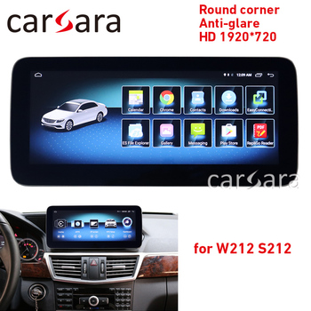 "W212 mercede Android touch screen head unit radio 10-15 E250 E300 10.25"" 4G RAM 64 ROM display GPS Navigation multimedia player"