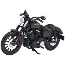 Maisto 1:12 2014 Sportster Iron 883 Dyna Straat Glide Road King Cvo Breakout Electra Glide Diecast Legering Motorfiets Model Speelgoed