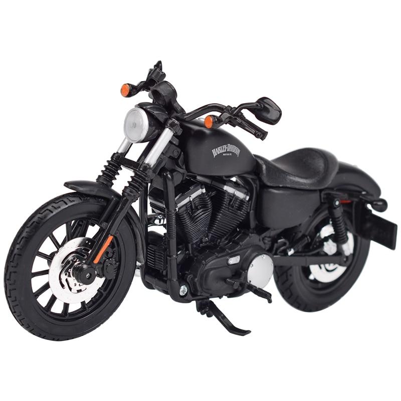 Maisto 1:12 2014 Sportster Iron 883 Dyna Street Glide Road King CVO Breakout Electra Glide Литой Сплав модель мотоцикла Игрушка|Игрушечный транспорт|   | АлиЭкспресс