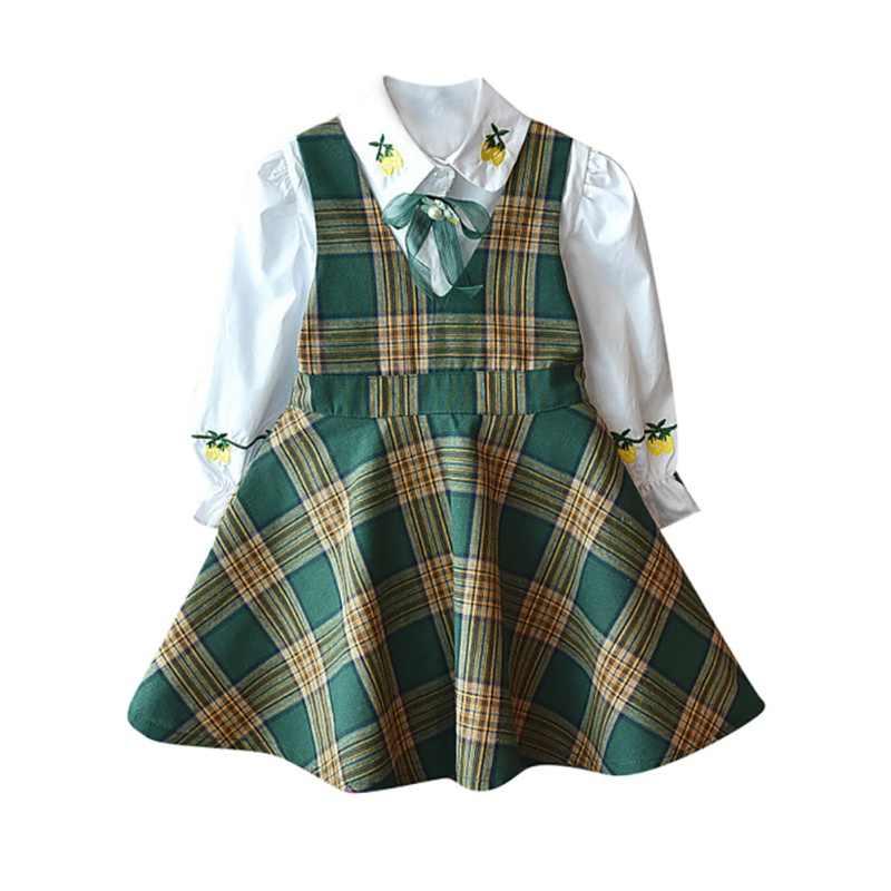 Комплекты одежды для маленьких девочек Детская футболка с длинными рукавами