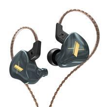 KZ EDX 1 dynamique dans l'oreille écouteur HIFI DJ moniteur écouteurs écouteurs Sport antibruit casque pour kz zsn pro/zsn zsx