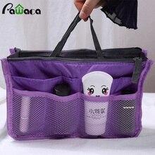 Портативная Повседневная дорожная сумка для хранения, двойная косметички на молнии, органайзер для макияжа, сумка для хранения, многофункциональная сумка для туалетных принадлежностей