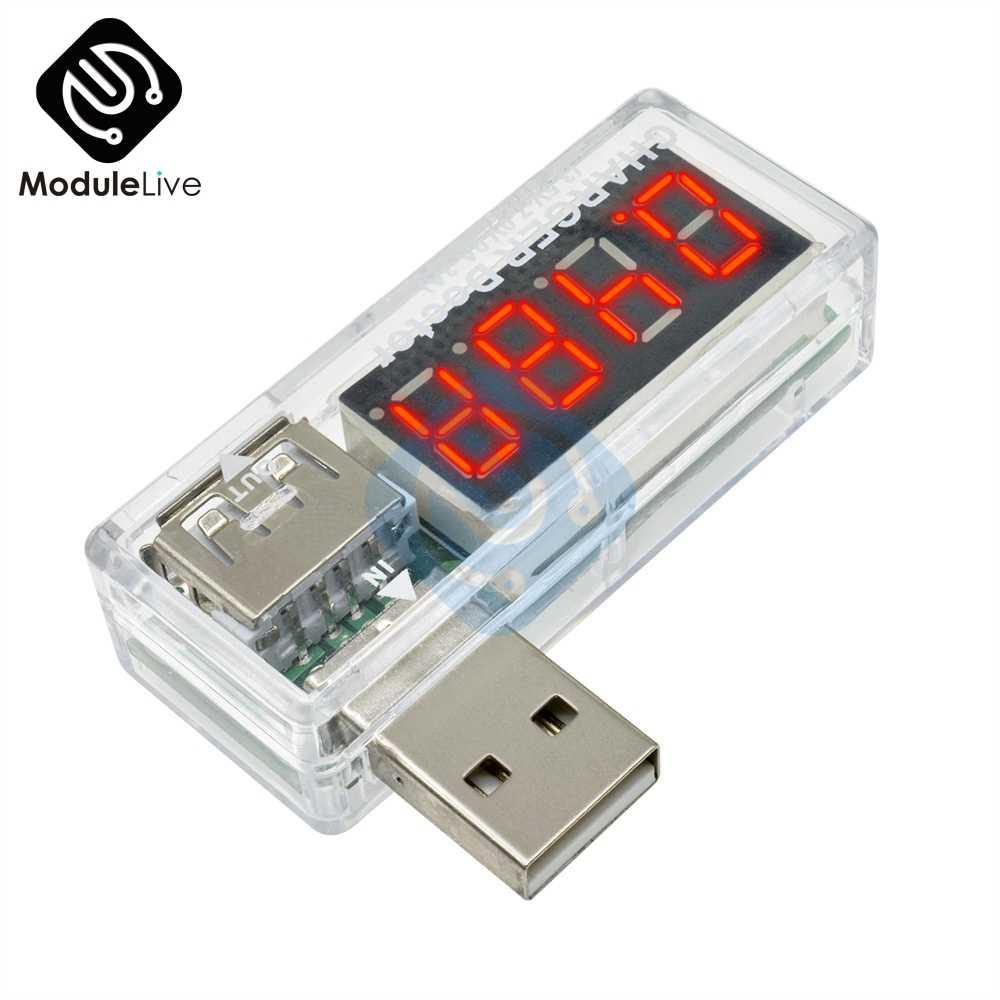 Nouveau affichage numérique chaud Mini USB courant tension compteur testeur de batterie Mini courant et tension détecteur chargeur docteur