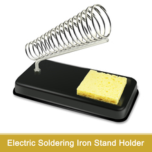 Soldering-Iron-Stand-Holder Welding-Sponge Support-Station-Generic Electric Small High-Temperature-Resistance