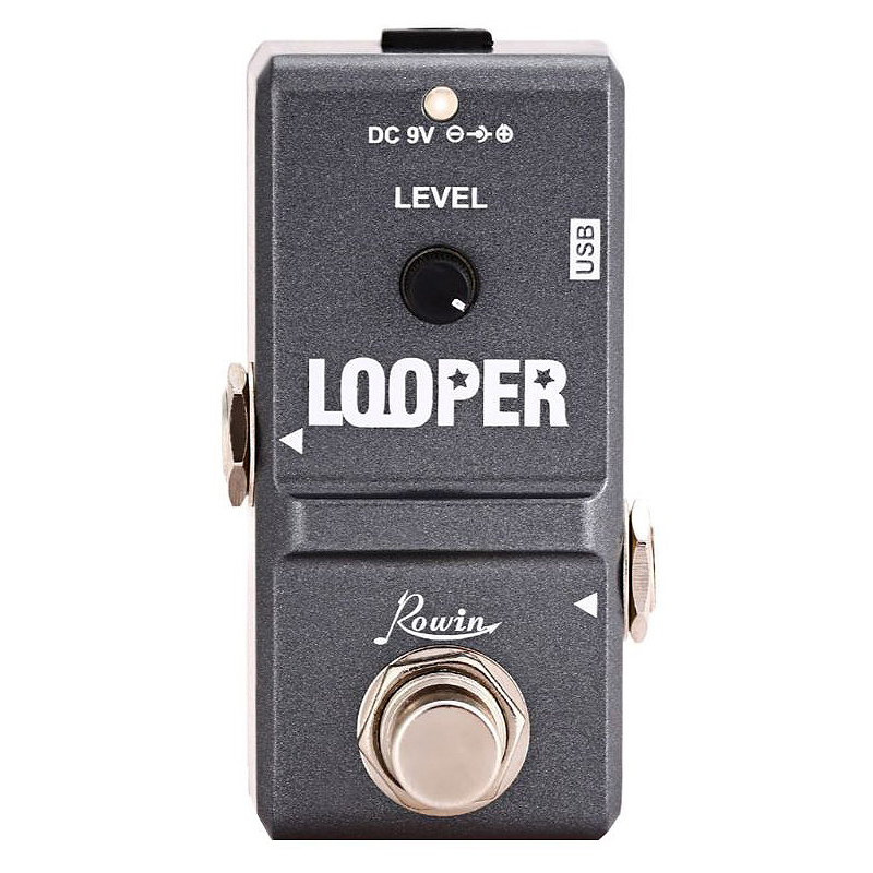 Tiny Looper Electric Guitar Effect Pedal 10 Minutes of Looping Unlimited Overdubs Homeland