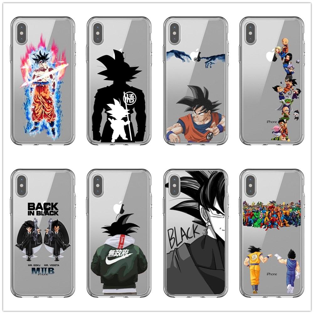 Dragon Ball Z Super DBZ Goku DBS Fashion Coque Phone Case Cover shell For Apple iPhone 5 5s Se 6 6s 7 8 Plus X XR XS MAX