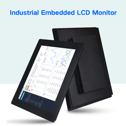 15.6 Inch Monitor of Tablet LCD Display Desktop Screen VGA HDMI AV TV 1920*1080 Not Touch Screen industrial computer monitor