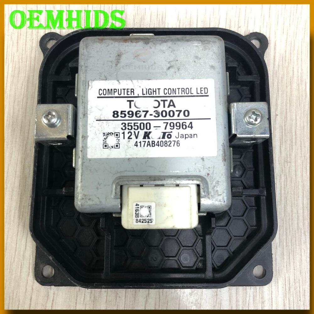 85967-30070 OEM LED BALLAST Used Original OEMHIDS For 13-15 GS 13-19 GX460 2012 Prius LED Headlight Control Unit 8596730070