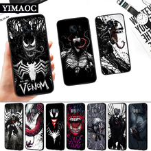 Marvel Venom Villain Silicone Soft Case for Samsung S6 S7 Edge S8 S9 S10 Plus Note 8 9 10 M10 M20 M30 M40 j6