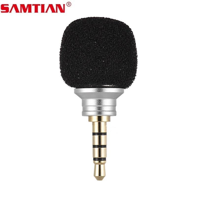 Samtian Mini Omni-Directional Mic Cellphone Smartphone Portable Microphon For IPhone 5 6 7 8s Samsung Huawei