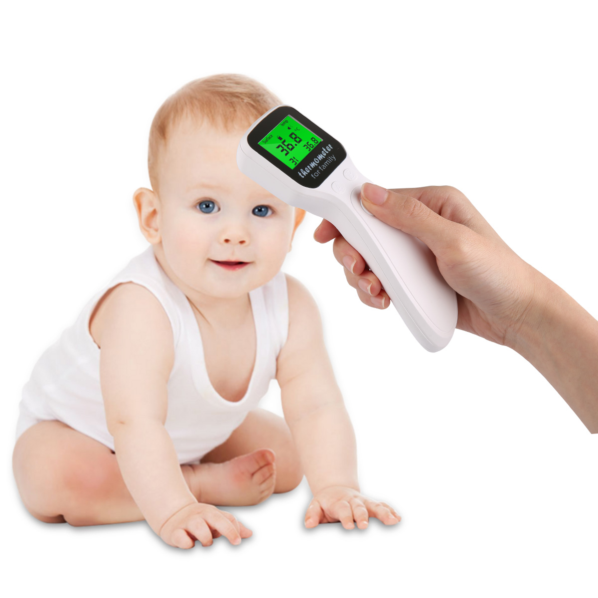 Medical Forehead Infrared Thermometer Adult Baby Body Fever Temperature Measurement High Accurate Family Health Care