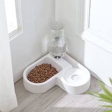 New Corner Dog Bowl in Small Dogs Food Basin Cat B