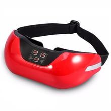 Массажер для глаз, зеленый светильник, терапия, близорукость, спа лечение, 3D снятие усталости, массаж головы, снятие стресса, уход, близорукость, восстановление зрения