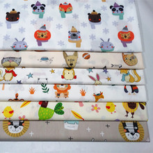 Pactwork Prints 100%cotton Fabric Childerns Quilting for Household Furinture Cover Decoration Sewing Supply Skinfriendly