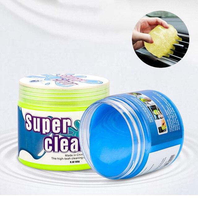 Nützliche Reinigung Gel Für Home Auto Reiniger Weichen Kleber Magie Reinigung Werkzeug Schlamm Entferner Lücke Outlet Dashboard Tastatur Staub Reiniger