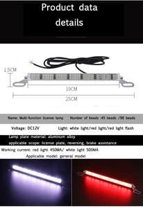 Image 5 - 90 Barra LED Bar/Work Light License Plate Refit Super Bright Rogue Reverse 12V Flash Brake Light Waterproof Rear Lights