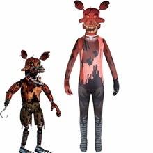 Halloween-Costume Fnaf Cosplay At Five-Nights Bodysuit Party-Clothing Anime Cos Funny