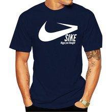 Футболка sike п Муж тройник дизайн дышащие летние буквы Фитнес