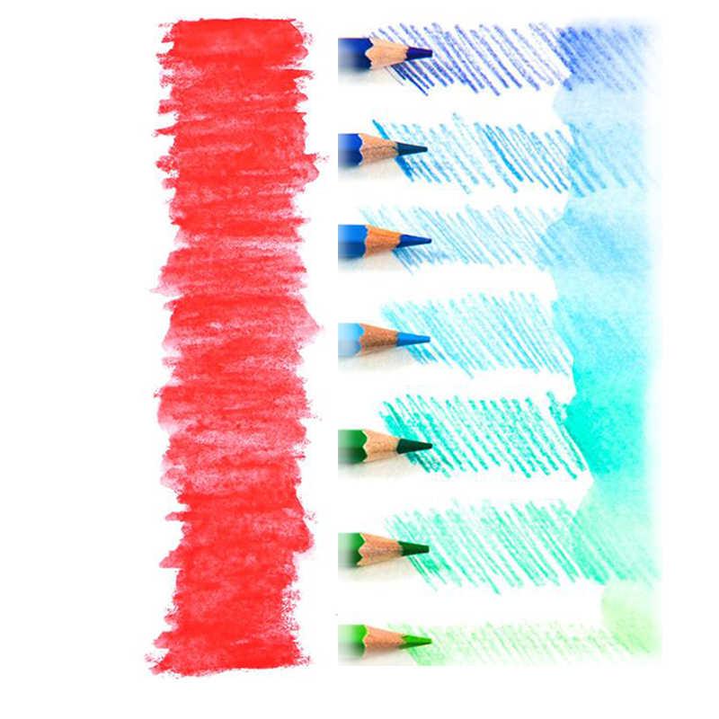 Brutfuner 48/72/120/150/180 ดินสอไม้ดินสอสีชุด Lapis de COR ของขวัญภาพวาดสำหรับเด็กอุปกรณ์ศิลปะโรงเรียน