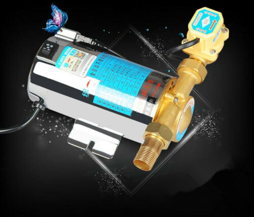 H92135e80363c437084f1b024f8d1aa7cW - Automatic Home Shower Washing Machine Water Booster Pump Stainless 220V 100W