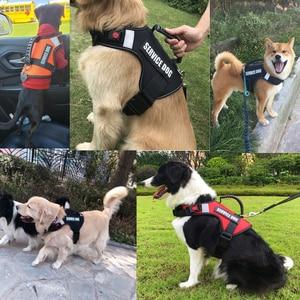 Image 5 - Arnés tipo chaleco para perro reflectante, chaleco para andar, correa para perro medio, arneses de seguridad, suministros para perros PP064