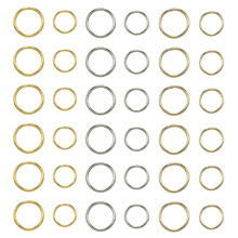 180 Pcs/Set 12/14mm Hair Braid Rings Accessories Clips For W
