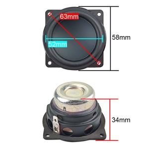 Image 2 - GHXAMP 2 Inch Speaker 4OHM Full Range Units Woofer Portable Bluetooth Speaker Waterproof Diy Home Theatre Neodymium 10W 20W 2PCS