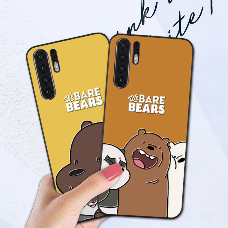 Soft Cover <font><b>Fundas</b></font> Case For <font><b>Huawei</b></font> P Smart Z P20 Lite P30 Pro Y5 <font><b>Y6</b></font> Y7 Y9 Prime <font><b>2019</b></font> 3D Cartoon Funny Back Cover image