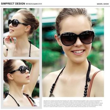 SIMPRECT Round Sunglasses Women 2021 Black Oversized Sunglasses Retro Vintage Big Sun Glasses Shades For Women Zonnebril Dames