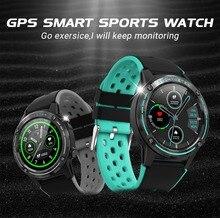 цена на GPS smart sports watch waterproof IP67 heart rate monitoring Bluetooth call 5 sport modes Touch 1.3IPS unisex smart watch M6