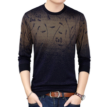 Mens Sweaters for 2019 Pullover Flower Sweater Mensthin Jersey Knitted Wear Slim Fit Knitwear Fashion Men Clothing