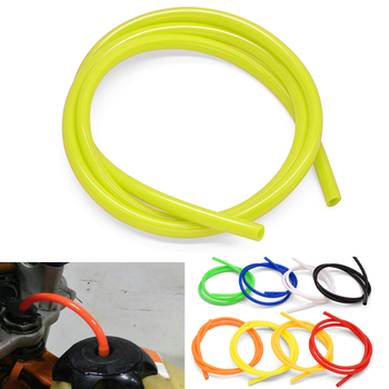Motorcycle Fuel Gas Oil Delivery Tube Petrol Hose Pipe Fuel Filter For Kawasaki KLX125 KLX250 KDX125 KDX250 klx 250 kdx 125 image