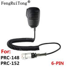 Ручной микрофон для динамика 6 контактов ptt tri tca/an prc152