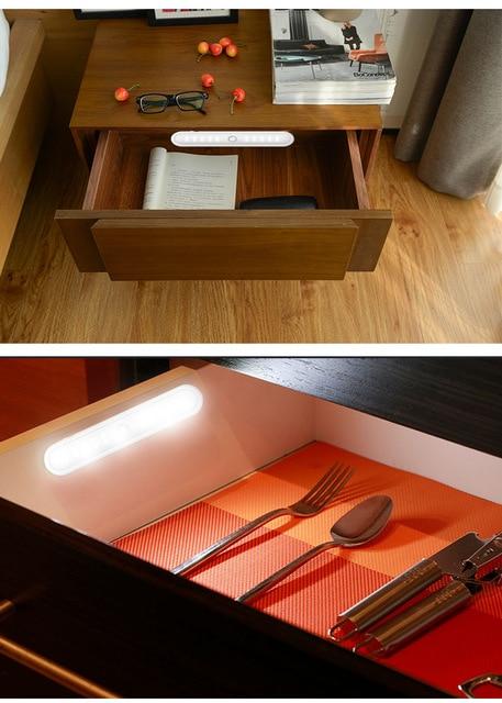 Купить умный мини светильник для шкафа 20 светодиодов с инфракрасным картинки цена