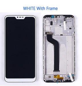 """Image 2 - 5.84 """"remplacement décran pour Xiao mi mi A2 Lite LCD affichage et écran tactile numériseur cadre ensemble dassemblage pour rouge mi 6 Pro"""