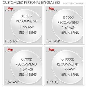 Image 3 - Meeshow 1.56 1.61 1.67 1.74 reçete lens CR 39 reçine asferik gözlük lensler miyopi hipermetrop presbiyopi optik Lens