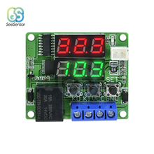 Regulator-Control-Switch W1219 Dual Ntc-Sensor-Module Digital-Display DC 12V 5V LED