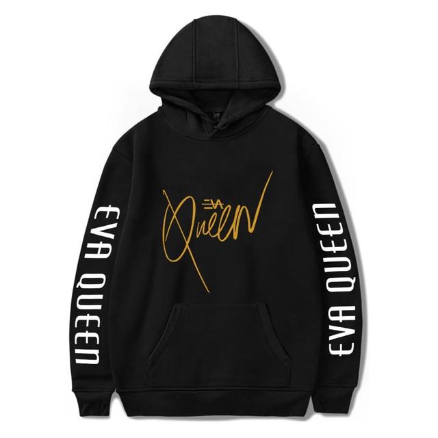 2020 Eva Queen Hoodies Men Casual Streetwear Sweatshirt Sudadera Hombre Eva Queen Hoodie For Men/Women 1