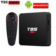 T95 Super Android 10 Smart TV Box Allwinner H6 Quad-Core 2GB
