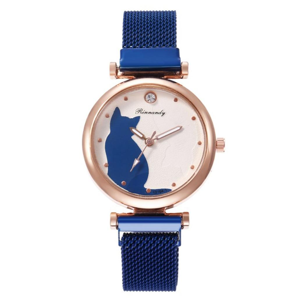 Fashion Simple Magnet Buckle Alloy With Women's Watch часы женские наручные Relojes Para Mujer часы женские Relogio Feminino