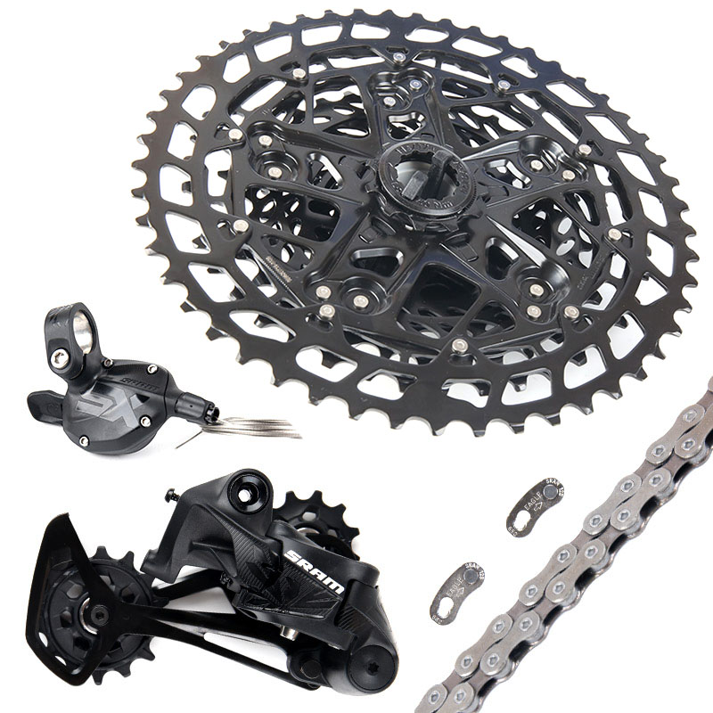 SRAM SX EAGLE 1x12 11 50T 12 speed MTB Groupset Kit Trigger Shifter Derailleur Chain with PG1210 cassette|  - title=