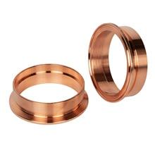 red copper Tri clamp tri clover ferrule for sale Weld Distillation accessories 1/2 1.5  2 3 4 6 8Inch etc size