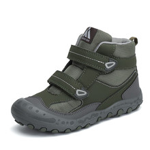 Autumn Kids Shoes Outdoor Boys Sneakers Girls Boots Flat